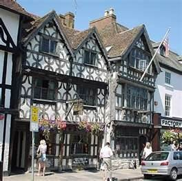Stratford upon Avon, England birthplace of Shakespeare.