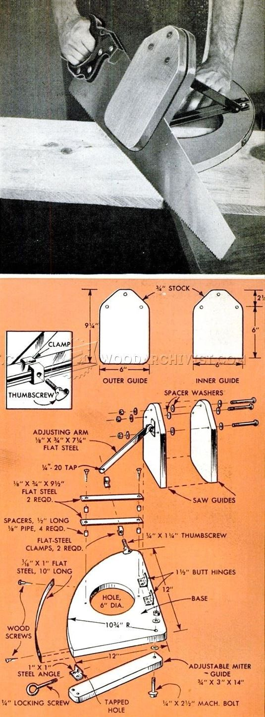 DIY Hand Saw Guide - Hand Tools Tips and Techniques   WoodArchivist.com