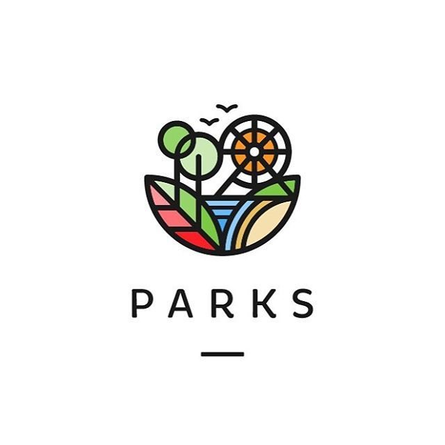 Parks by Roko Kerovec | behance.net/rokac  logoinspiration.net/parks