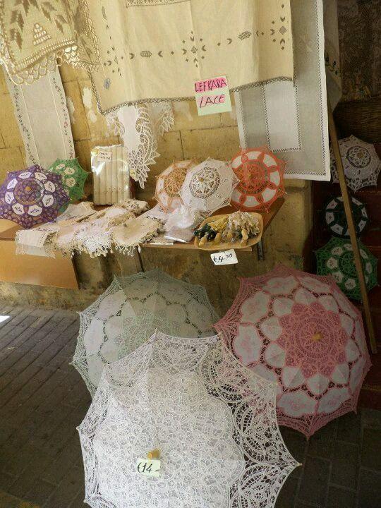 Lefkara lace. Cyprus.