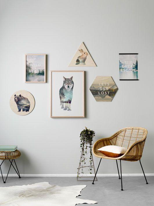 Faunascape - Panel - Deer