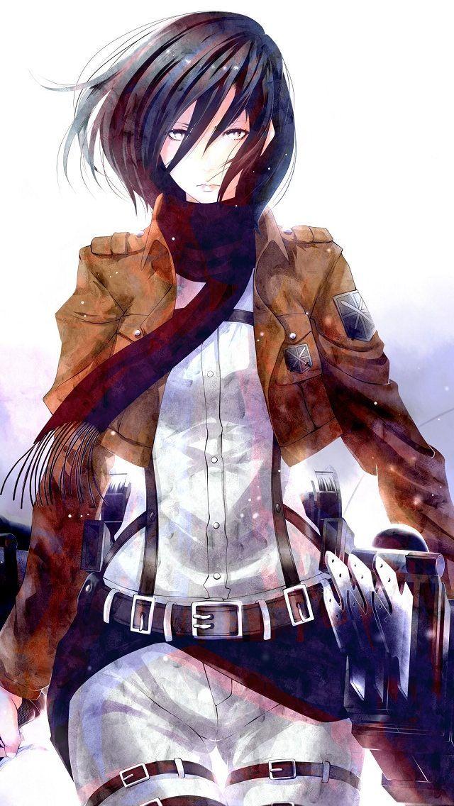 Attack on Titan Mikasa Ackerman Anime Pinterest