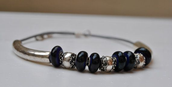 Midnight Silverstar by MixNBeads on Etsy, $30.00