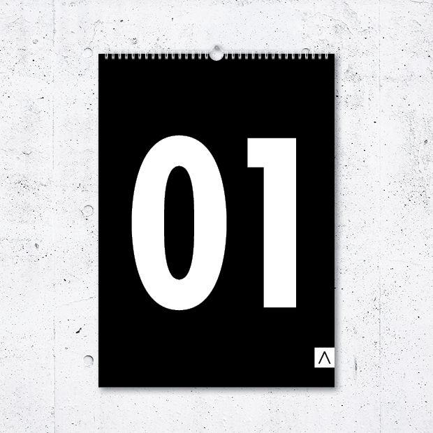 Kalendář Black Numbers