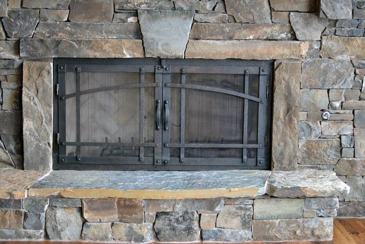 fireplace screens and doors