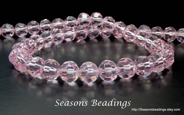 Excited to share the latest addition to my #etsy shop: 70 Translucent Pink 8mm Faceted Round Crystal Beads - Free Shipping to Canada http://etsy.me/2CzaGxG #supplies #pink #crystal #jewelrymaking #round #freeshipping #canada