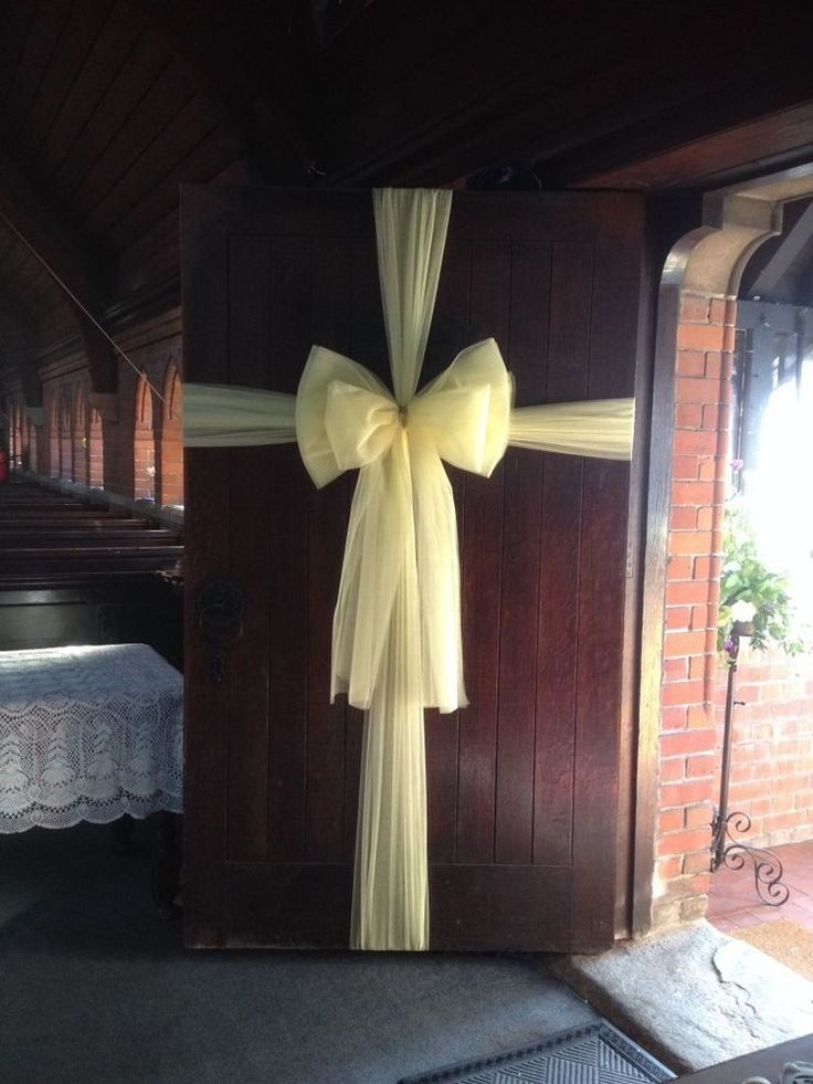 Luxury Celebration Door Bows Kit Ready To Hang Wedding All Colours Available