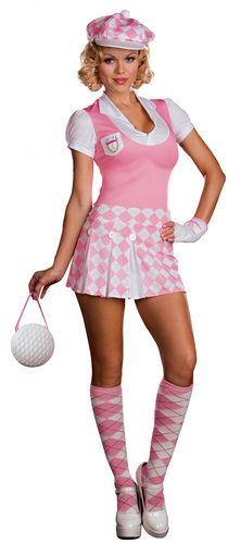 Caddy Shack Cutie Golf Costume