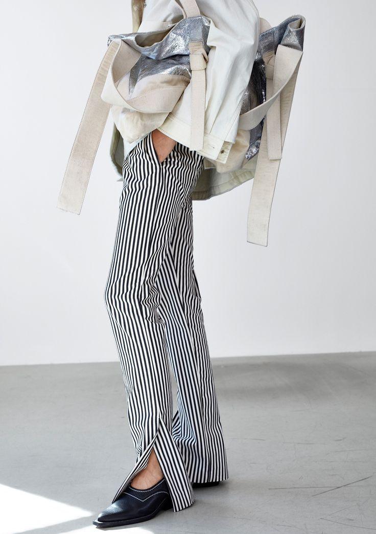 Move Trouser - Black Stripe