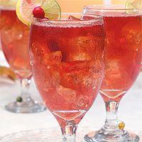 Cranberry Iced Tea