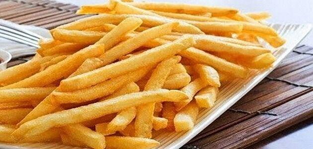 طريقة عمل وتخزين بطاطس بوم فريت المقرمشة Food Vegetables Potatoes
