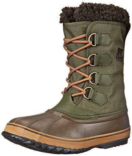 Sorel Men's 1964 Pac Nylon Cold Weather Boot - http://authenticboots.com/sorel-mens-1964-pac-nylon-cold-weather-boot/