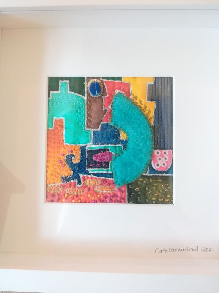 Manchester based textile artist Cath Carmichael.