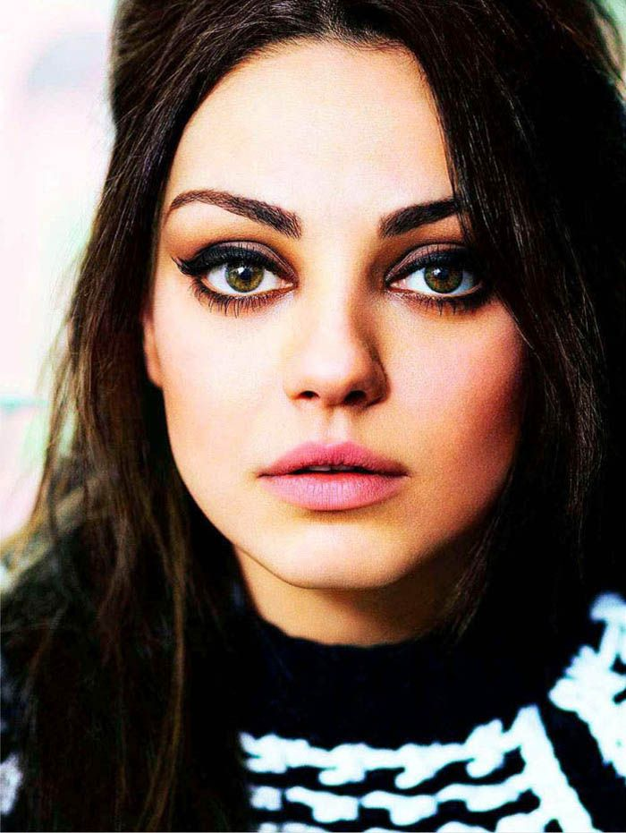 i just want to be able to achieve this eye makeup. Mila Kunis by Robert Erdmann for Glamour UK September 2011