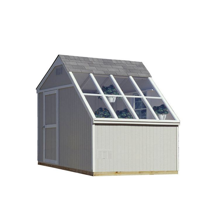 shop heartland horizon saltbox engineered wood storage shed common 10 ft x 8
