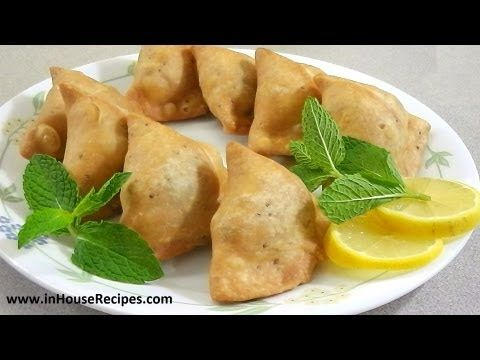 Samosa Recipe – Punjabi 'Aloo Samosa' - inHouseRecipes - YouTube
