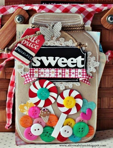 Sweet Memories - Two Peas in a Bucket