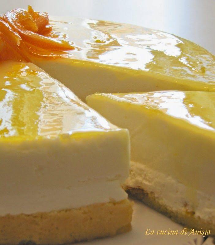 La cucina di Anisja: La bavarese all'arancia di Salvatore De Riso