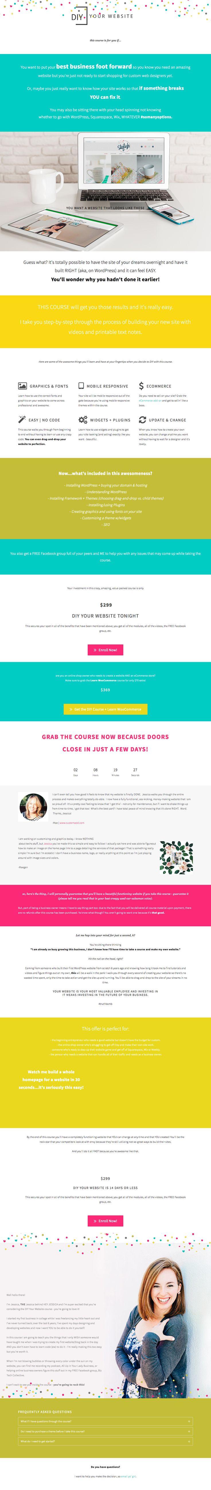 15 besten Landing Page Designs Bilder auf Pinterest