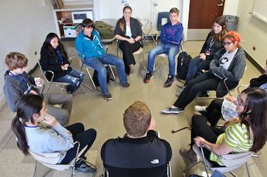 Peace Room Trumps Suspensions at Lincoln Park High School - Lincoln Park - DNAinfo.com Chicago