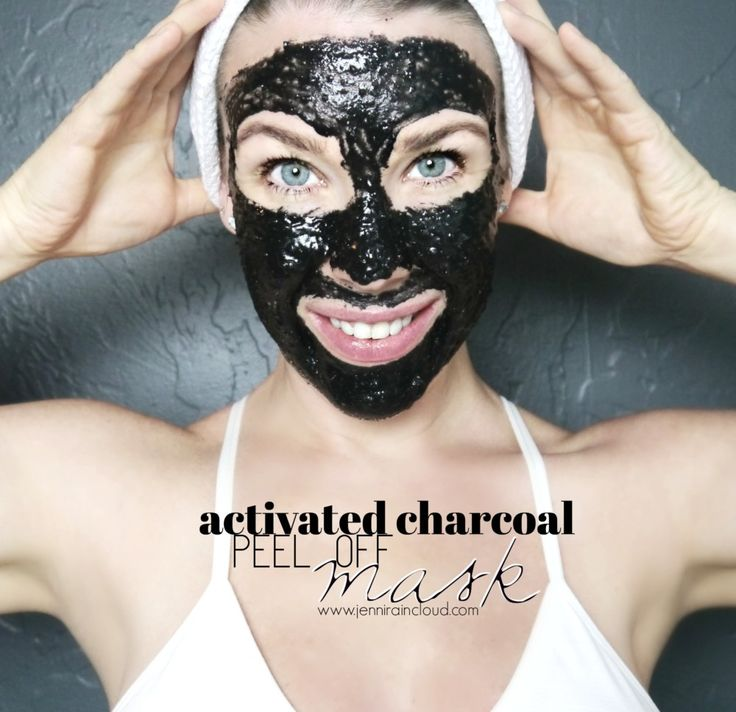 Diy peel off activated charcoal mask activated charcoal
