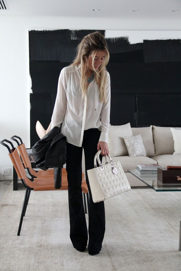 8 Pretty Office Perfect Outfits To Help You Look Forward To Your Work Week | Fab You Bliss