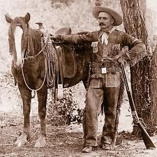A carefully posed Al Sieber, legendary Arizona scout who helped hunt down Geronimo.
