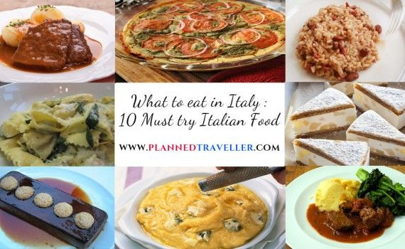 What to Eat in Italy : 10 Must try Italian food in Italy  While visiting Italy, break out from the norm and indulge in the local cuisine as Italian food in Italy is very different from what we usually experience.  #travel #plannedtraveller #Italiancuisine #food #italy