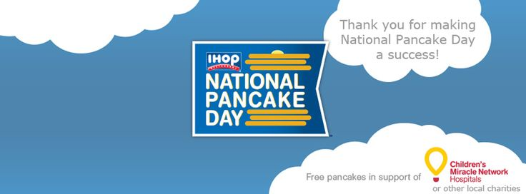 IHOP National Pancake Day Benefits Children's Healthcare of Atlanta // Want to do good and eat good at the same time? Check out IHOP's National Pancake Day happening March 3, 2015. Location: Click here to find an IHOP location near you. Details: Since beginning its Na...
