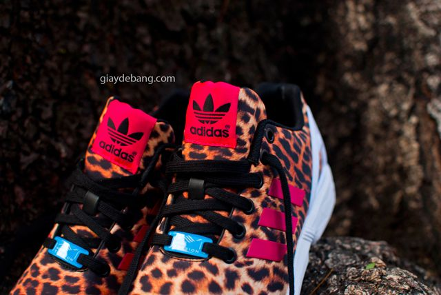 ZX FLux is getting 'Cheetah'! After the bunch of prints and patterns we have seen on this model we should have expected this new Adidas ZX Flux 'Leopard' p