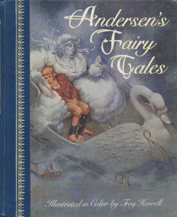 Znalezione obrazy dla zapytania the snow queen hans christian andersen book