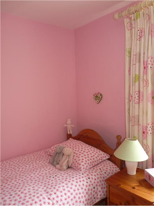 An inspirational image from Farrow and Ball Nancy's Blushes 278 and Al White ceiling 2005