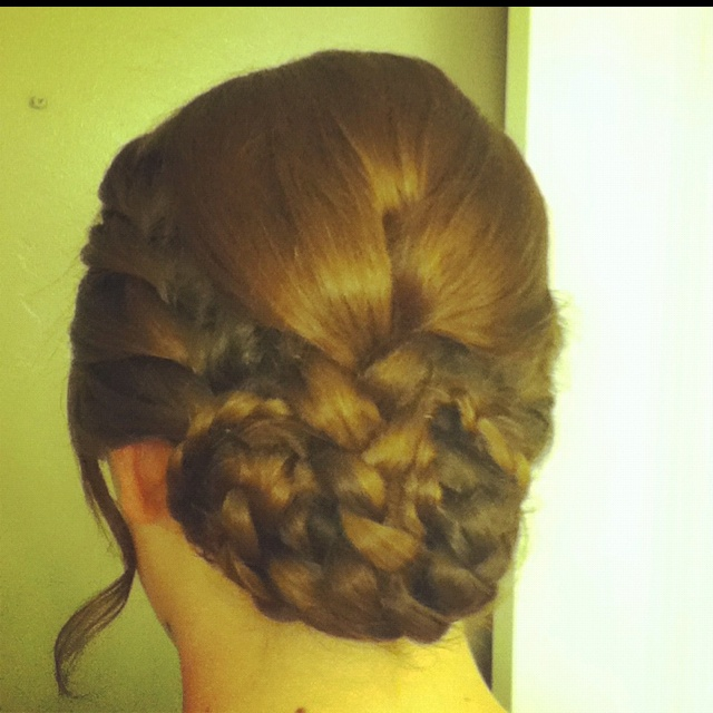 Copy of Katniss's hair during the reaping. #hungergames
