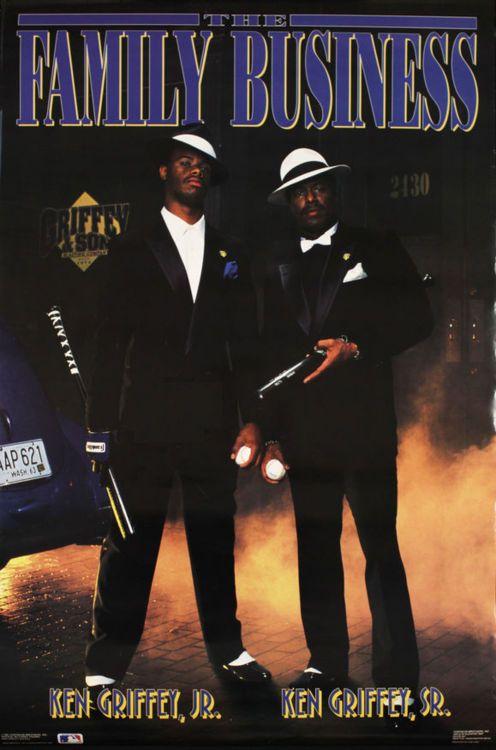 Ken Griffey Jr. & Ken Griffey Sr.