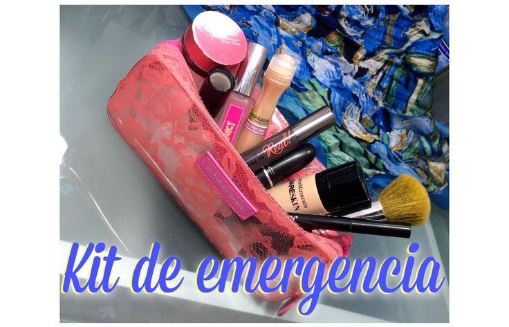 KIT DE EMERGENCIA!!! Lo que traigo en la bolsa cuando se que el día va para largo :)) https://www.youtube.com/watch?v=Z-LIJQJ0ncA  #maquillaje #makeup #emergencia #kit #emergency #vlogger #benefit #bareminerals #revlon #nivea #mac #maccosmetics :)