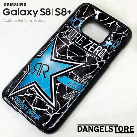 rockstar energy drink blue pure zero For Samsung S8 | S8 Plus Case