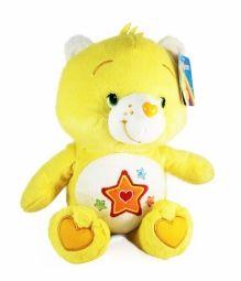 Troetelbeertjes knuffel: Eerlijkhart (geel)