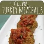 The BEST Turkey Meatballs Recipe - and they are heathy too!