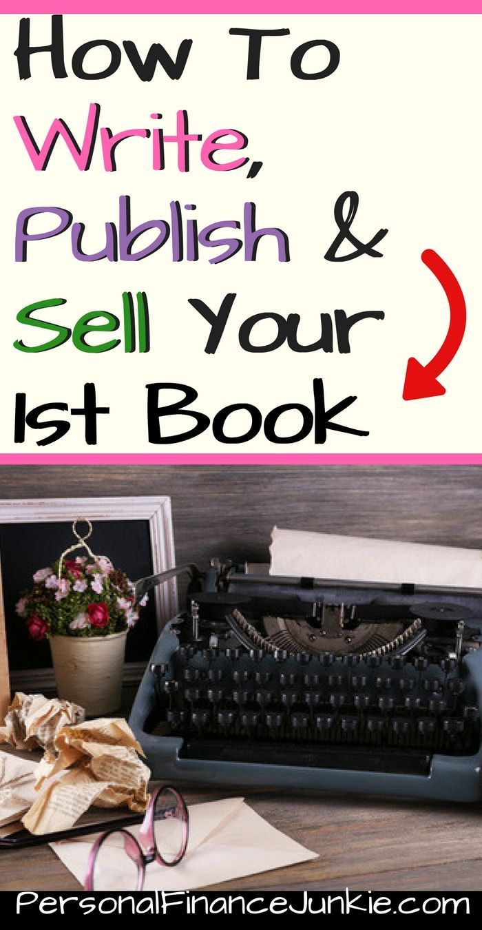 Learn how to write a book. Sell your first book online. Make money selling books. #writeabook #selfpublishingschool
