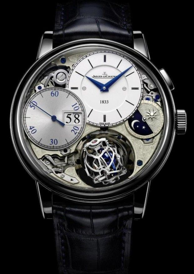 Jaeger-LeCoultre Master Grande Tradition Gyrotourbillon 3 Jubilee priced at USD 400,000.