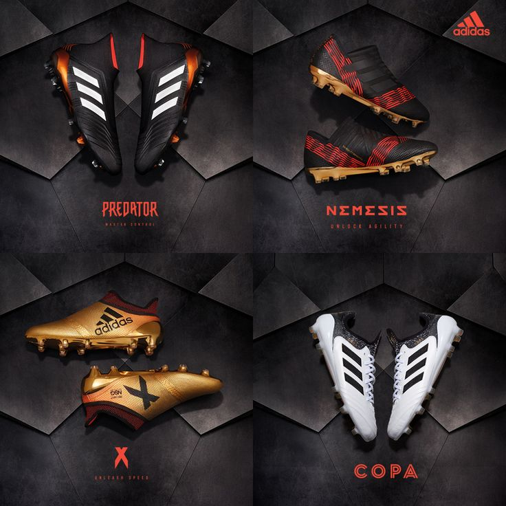 Skystalker pack from adidas. Get your shoe from the pack here > https://www.soccerpro.com/Adidas-Soccer-Shoes-c256/
