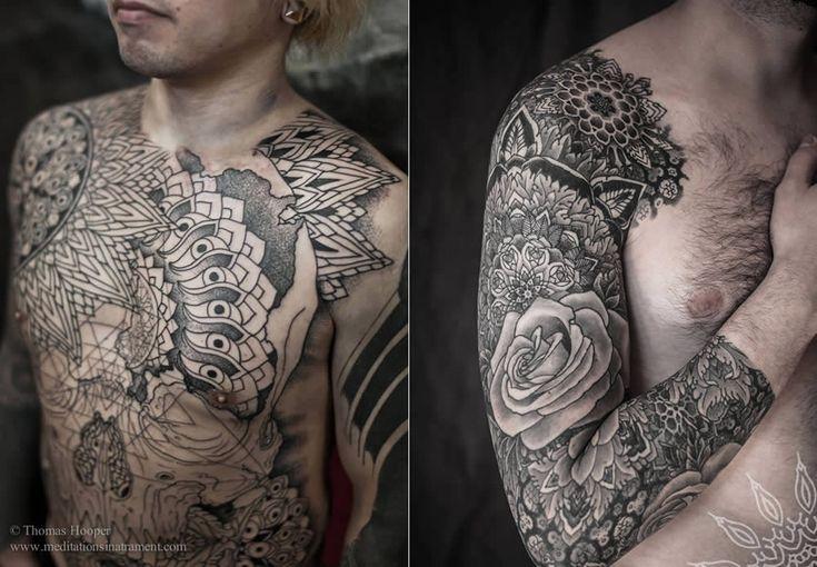 Striking tattoos from brooklyn ink pattern tattoos and art for Best tattoo artists in brooklyn