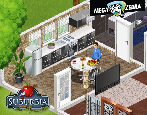 Small but cozy kitchen. For cooking romantic diners