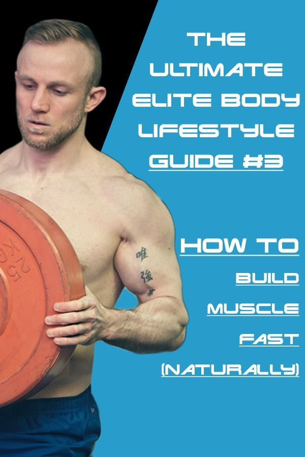 How To Build Muscle Fast Naturally The Complete Guide Muscle