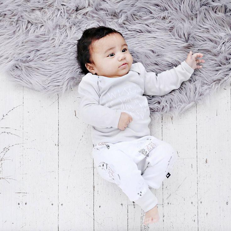 Organic baby clothing - Ethi- Wise beyond my weeks tee