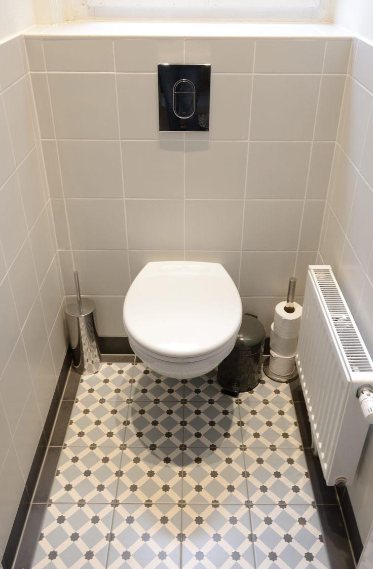 46 beste afbeeldingen over tegels van toen toiletinspiratie op pinterest toiletten vloeren - Wc c olour grijze ...