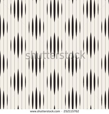 Vector Seamless Pattern Modern Striped Texture Repeating Geometric Tiles With Rhombuses