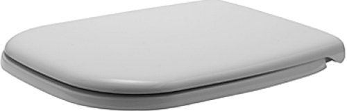 Duravit 0067390000 D-Code Toilet Seat and Cover, White Finish
