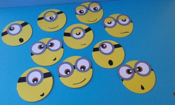 Minions/Inviti/Compleanno/Primo compleanno/partecipazioni/Minions invitations/decorazioni festa/handmade/di FrancyHappyShop su Etsy