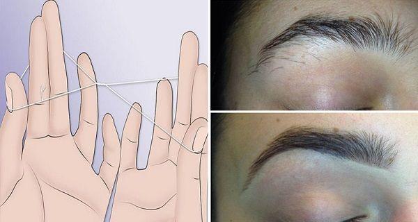 Comment épiler vos sourcils sans pinces en 5 minutes
